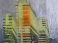 Moonshine - Acrylic Oil on Canvas - 82 x 100 cm