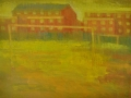 Nutmeg - Acrylic on Canvas - 60 x 460 cm